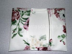 zsebkendő tartó varrás