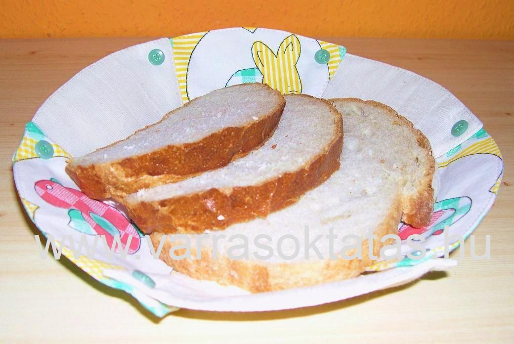 kenyértartó varrás kezdőknek
