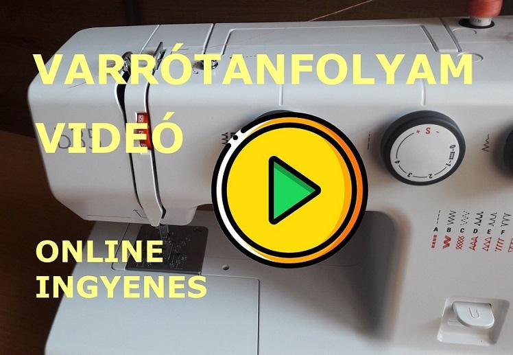 orsó behelyezése varrógépbe videó